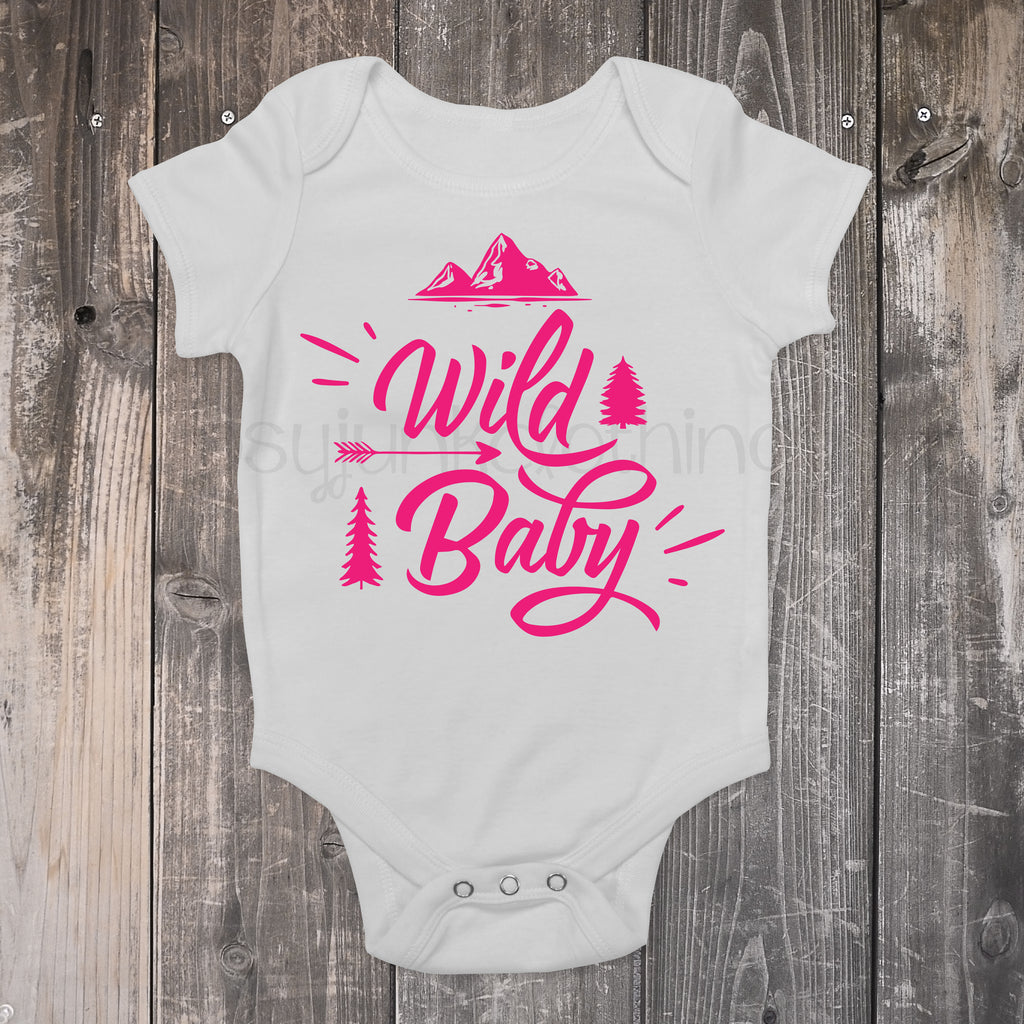 Wild Baby - Boho Baby Outfit - Rebels and Roses Boutique