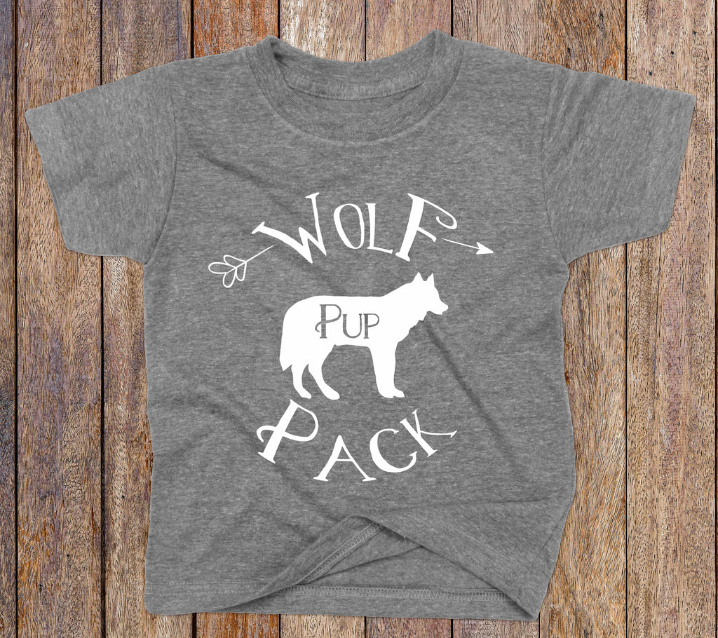 Wolf Pack Pup Shirt - Wolf Pack Apparel - Rebels and Roses Boutique
