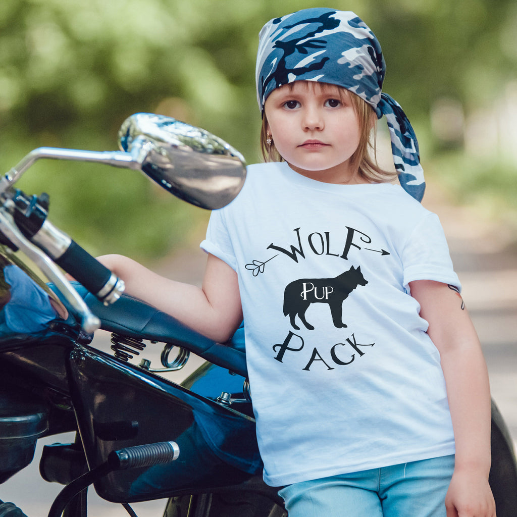 Wolf Pack Pup Tee - Wolf Pack Apparel - Rebels and Roses Boutique