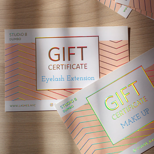 Gift Certificate, extensions