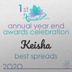 Annual year end awards - Keisha Best Spreads