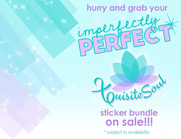 Imperfectly Perfect Sticker Bundle