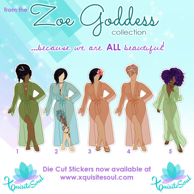 Zoe Goddess DIE CUT Dolls
