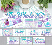 Let's Hit The Road African American Weekly Kit for Erin Condren