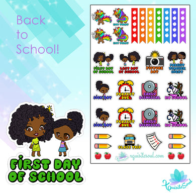 Back to School XQuibi Mini Kit Brown Skin