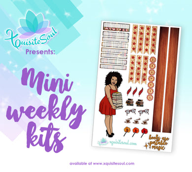 Book Lover Tan Skin Mini Weekly Kit
