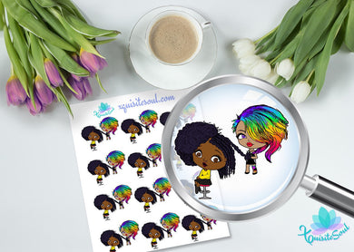 Black Girl Unicorn Hair Appointment XQuibi
