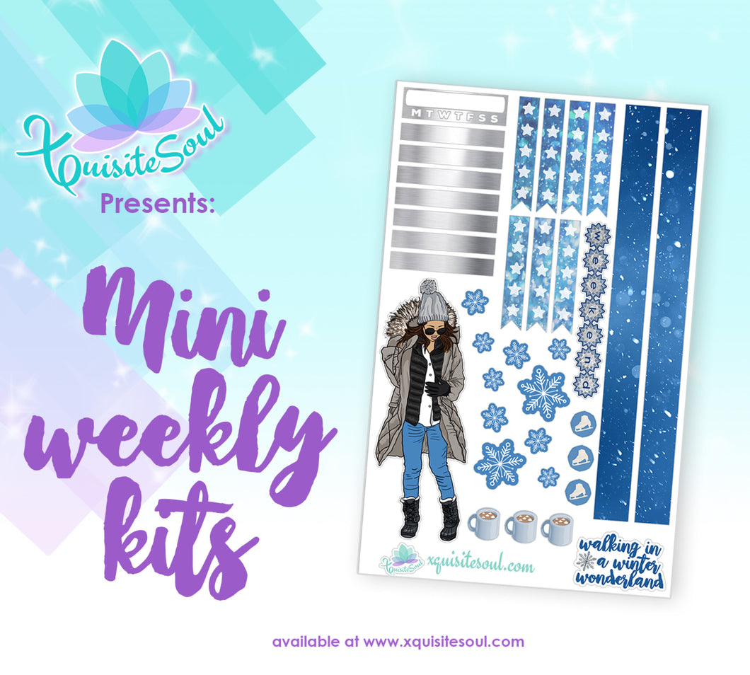 Winter Wonderland Tan Skin Mini Weekly Kit