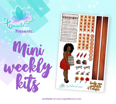 Book Lover African American Mini Weekly Kit