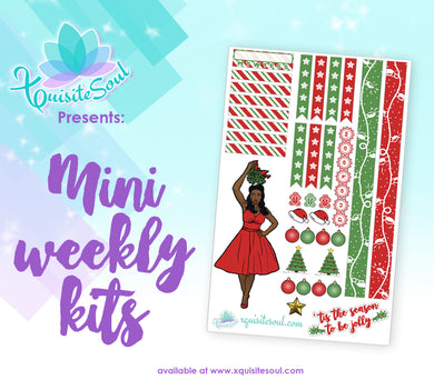 Christmas African American Mini Weekly Kit