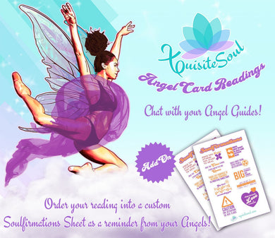Angel Card Reading and Custom Soulfirmations