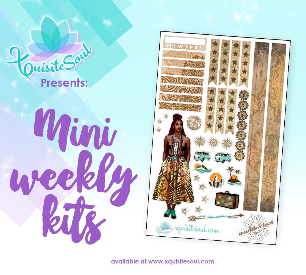 Wanderlust African American Dreadlocks Mini Weekly Kit