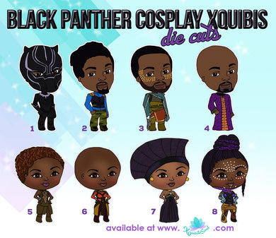 Black Panther Cosplay XQuibi Die Cuts