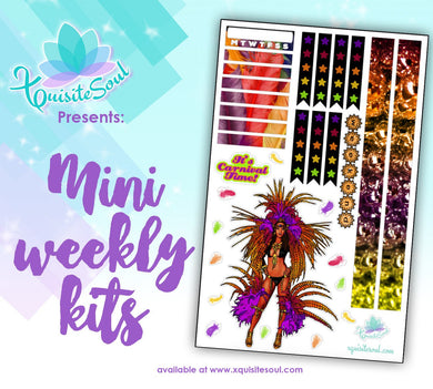 Carnival Time African American Mini Weekly Kit