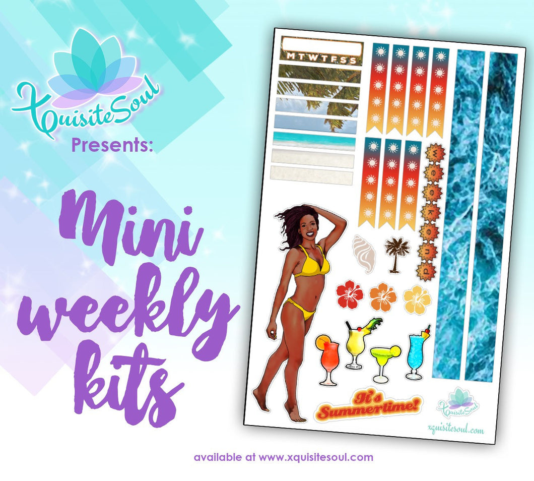 Summertime African American Mini Weekly Kit