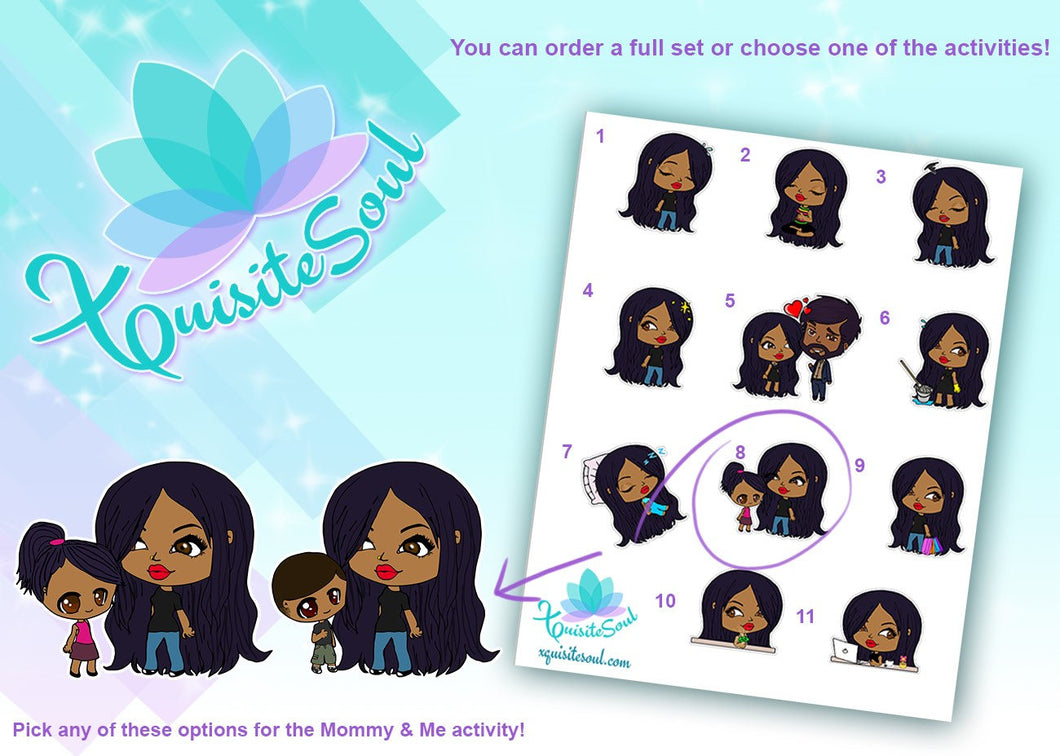 Anita Indian Girl Activity Stickers