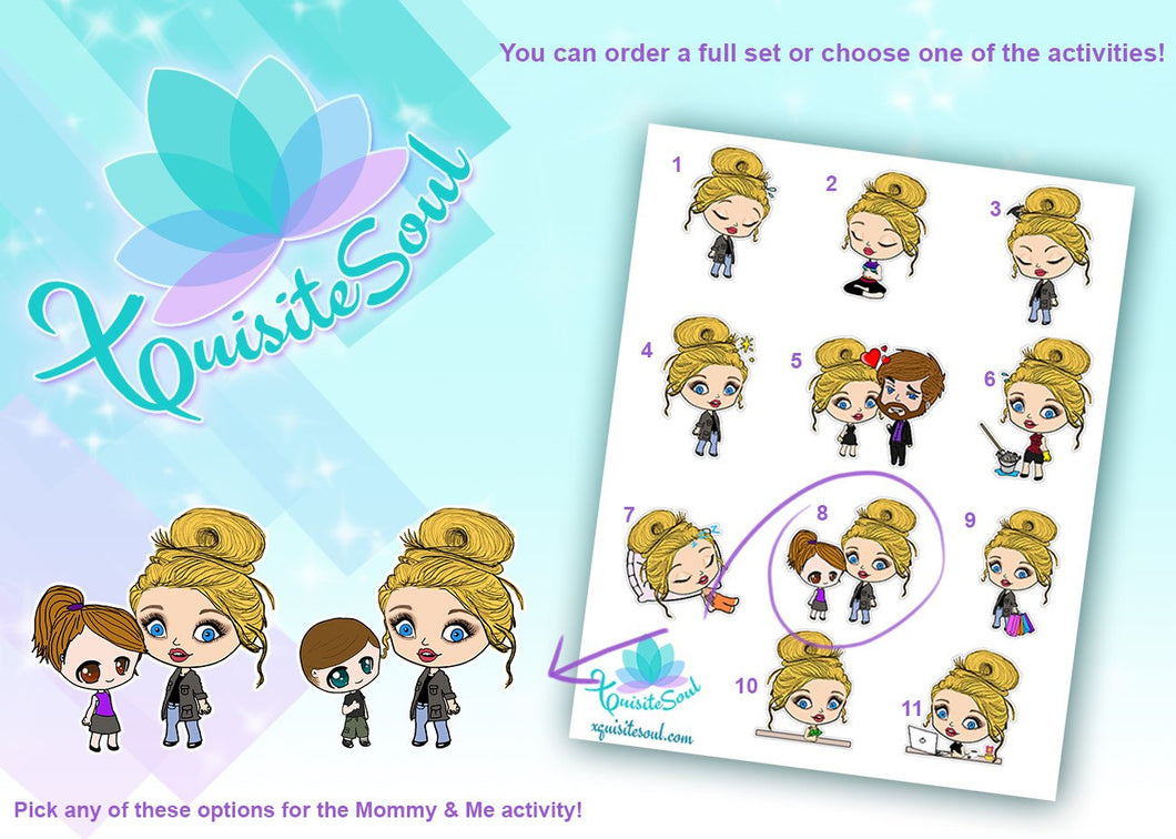 Jessie Blonde Girl Activity Stickers