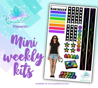 Music Unites Latina Woman Mini Weekly Kit