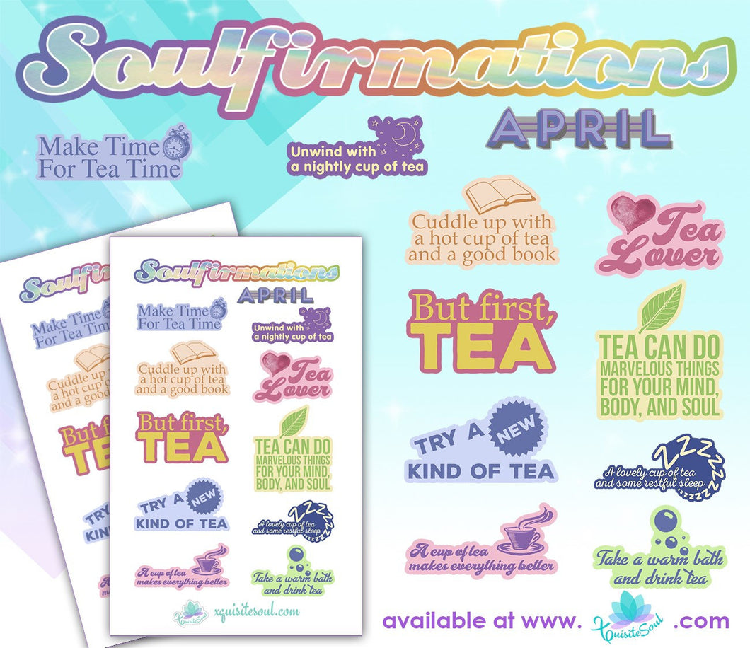 April Soulfirmations 14.0 - 12 Month Self-Care Challenge