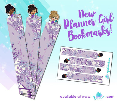 Planner Girl XQuibi Bookmarks