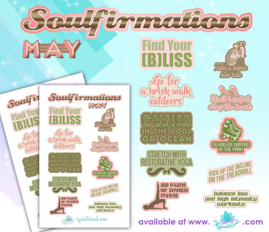 May Soulfirmations 17.0 - 12 Month Self-Care Challenge