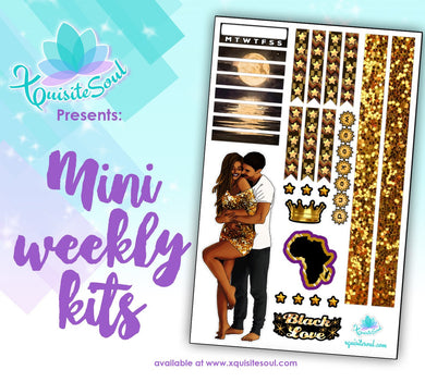 Black Love 2 African American Mini Weekly Kit