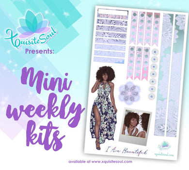 I Am Beautiful African American Mini Weekly Kit