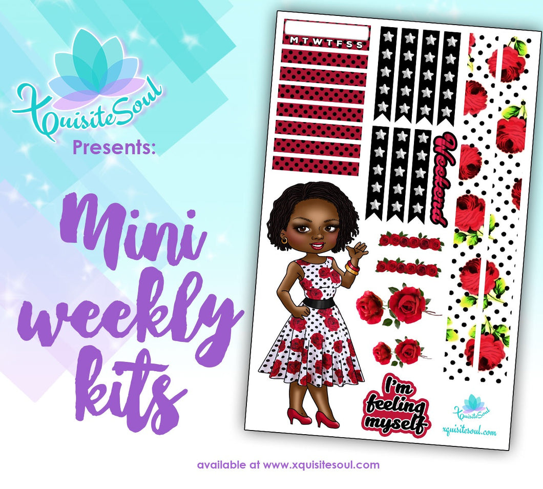 I'm Feeling Myself African American XQuibi Mini Weekly Kit