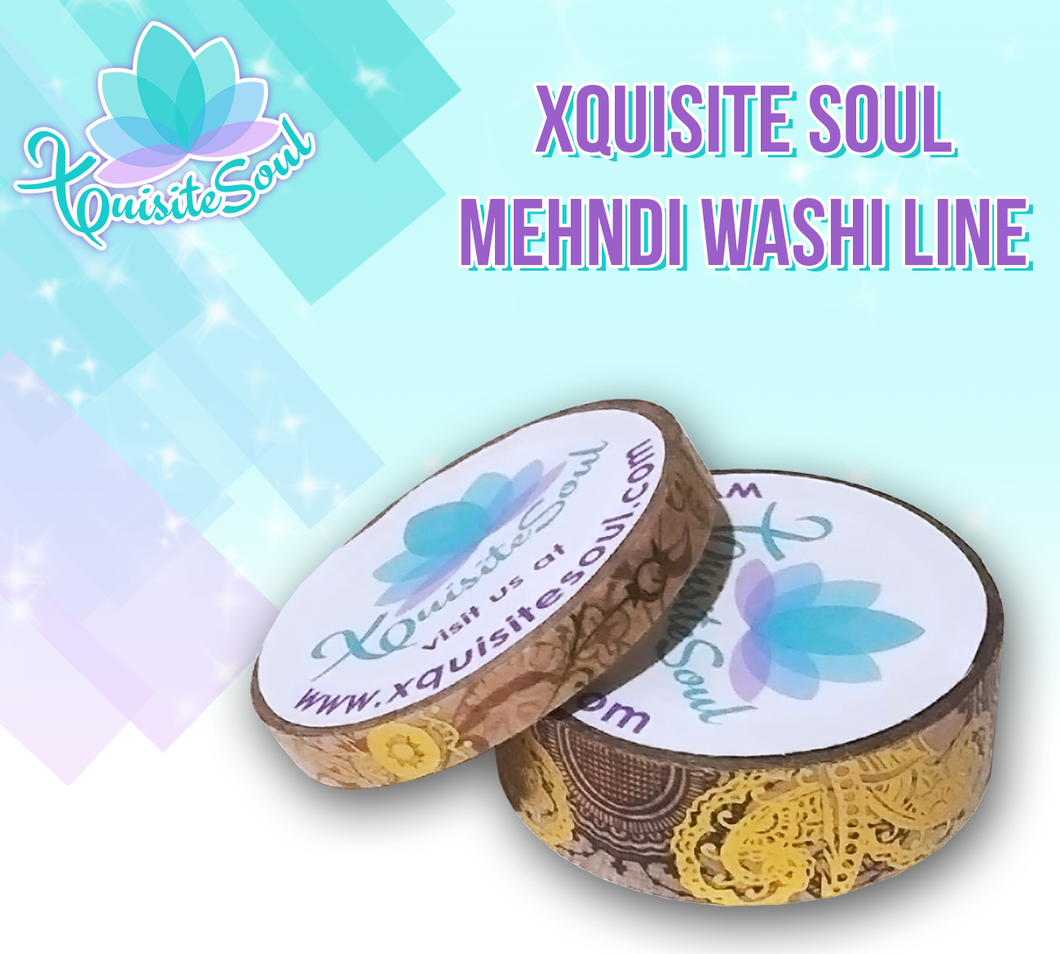 Mehndi Washi Collection