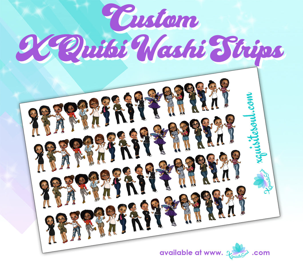 XQuibi Washi Strips 16.0