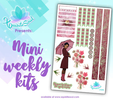 Spring Blossoms African American Mini Weekly Kit