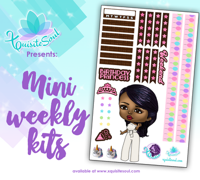 Birthday XQuibi African American Mini Weekly Kit