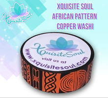 African Pattern Copper Washi