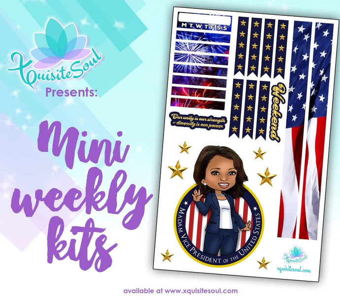 Kamala Harris Vice President-elect Mini Weekly Kit