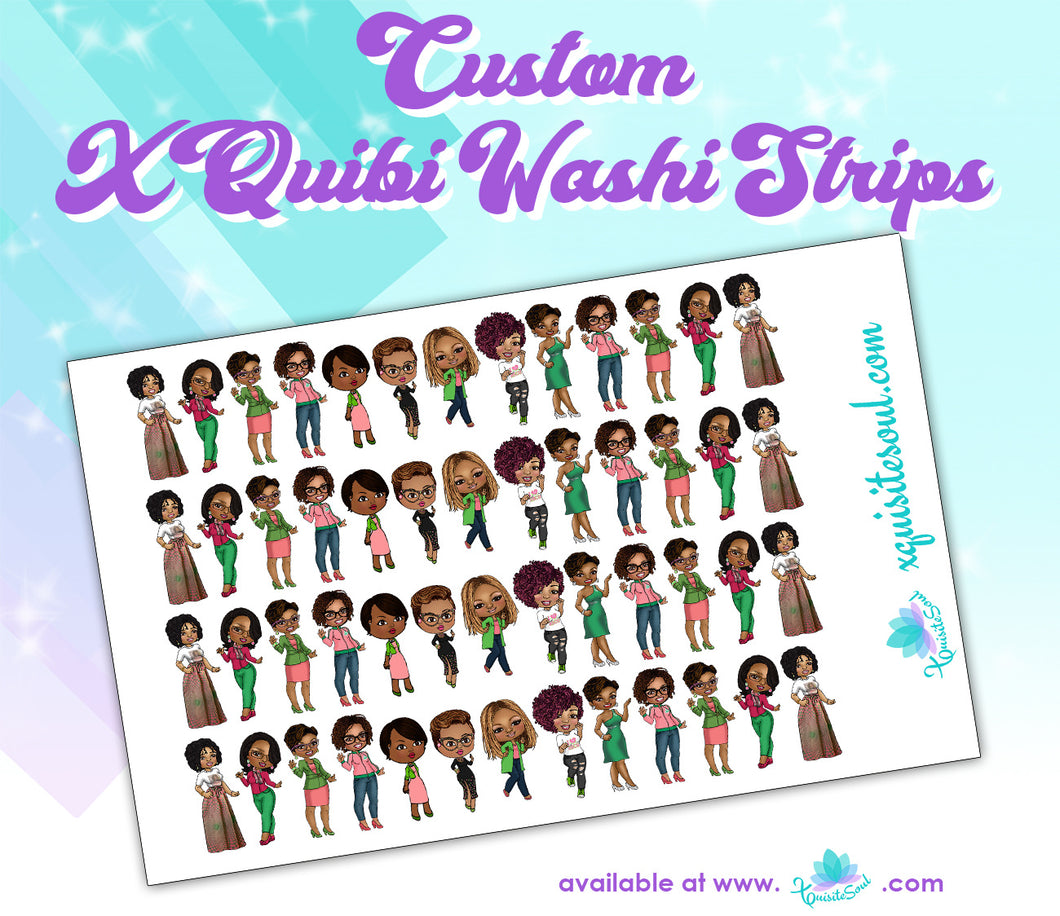 XQuibi Washi Strips 12.0