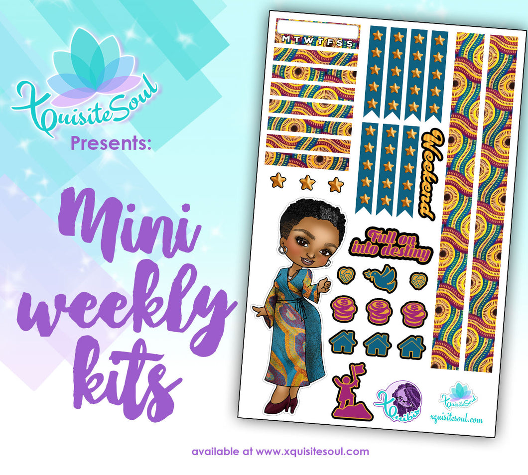 Destiny XQuibi African American Mini Weekly Kit