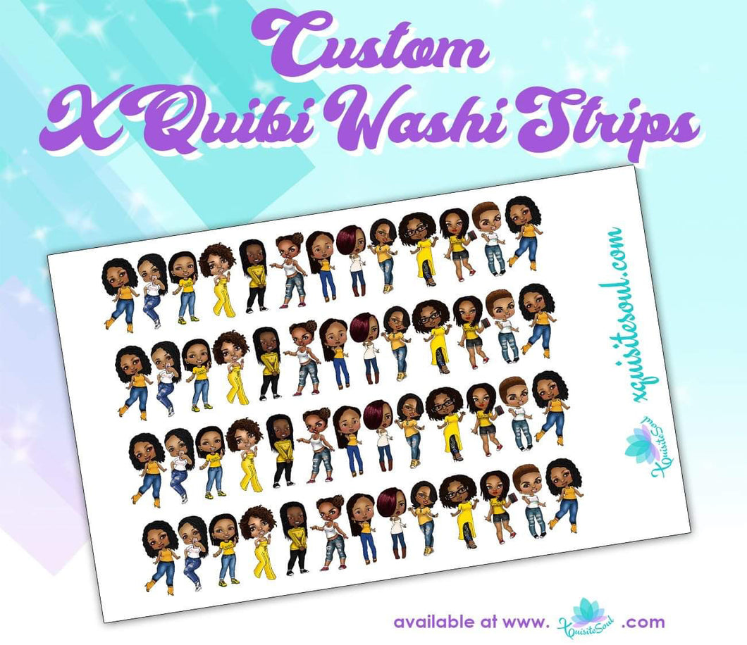 XQuibi Washi Strips 8.0