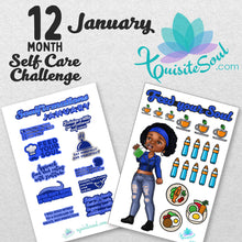 12 Month Self Care Soulfirmations Challenge