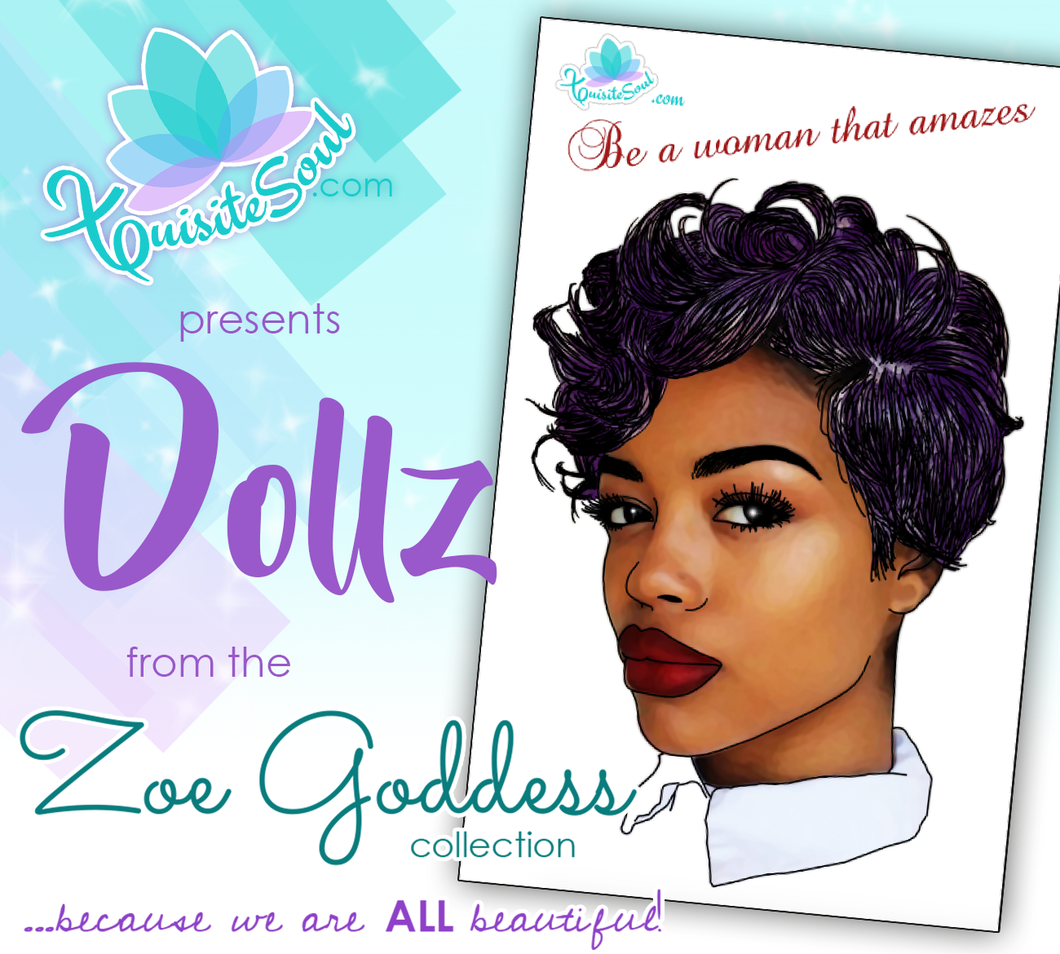 Be a Woman That Amazes African American Dollz