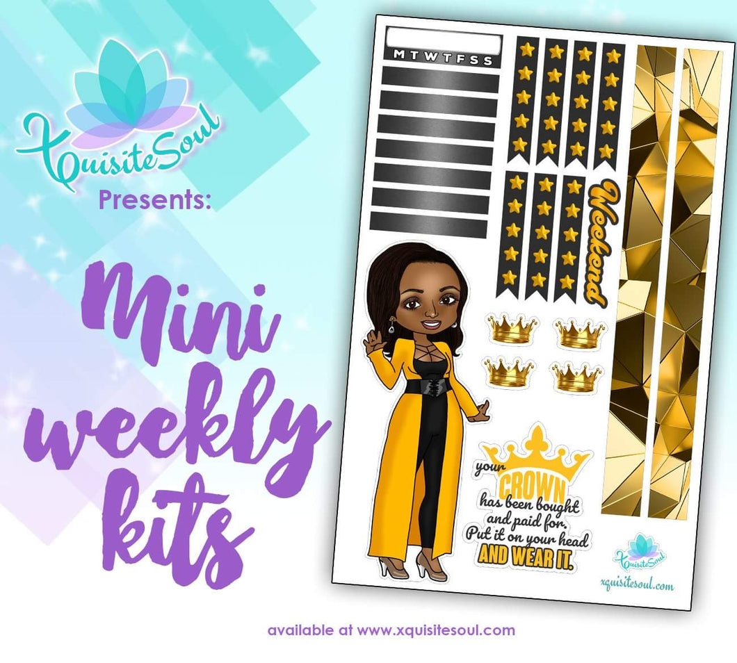 Your Crown XQuibi Mini Weekly Kit