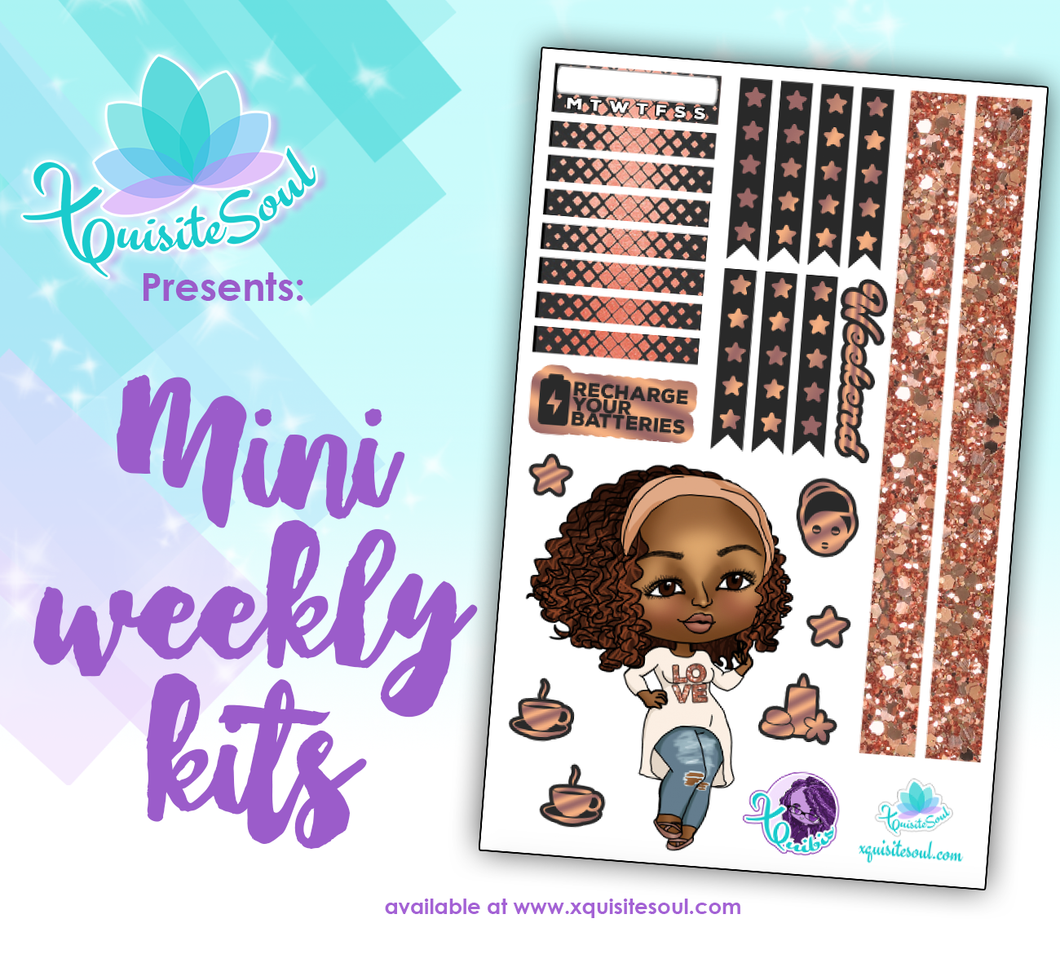 Recharge Your Batteries XQuibi African American Mini Weekly Kit