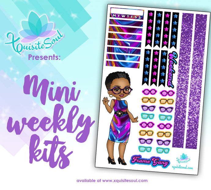 Frame Gang XQuibi African American Mini Weekly Kit