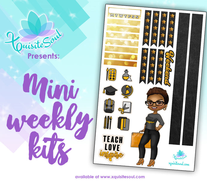 Teach Love Inspire XQuibi African American Mini Weekly Kit