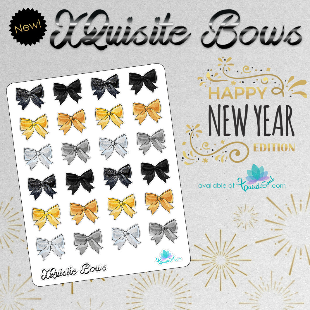 XQuisite Bows - New Years Edition