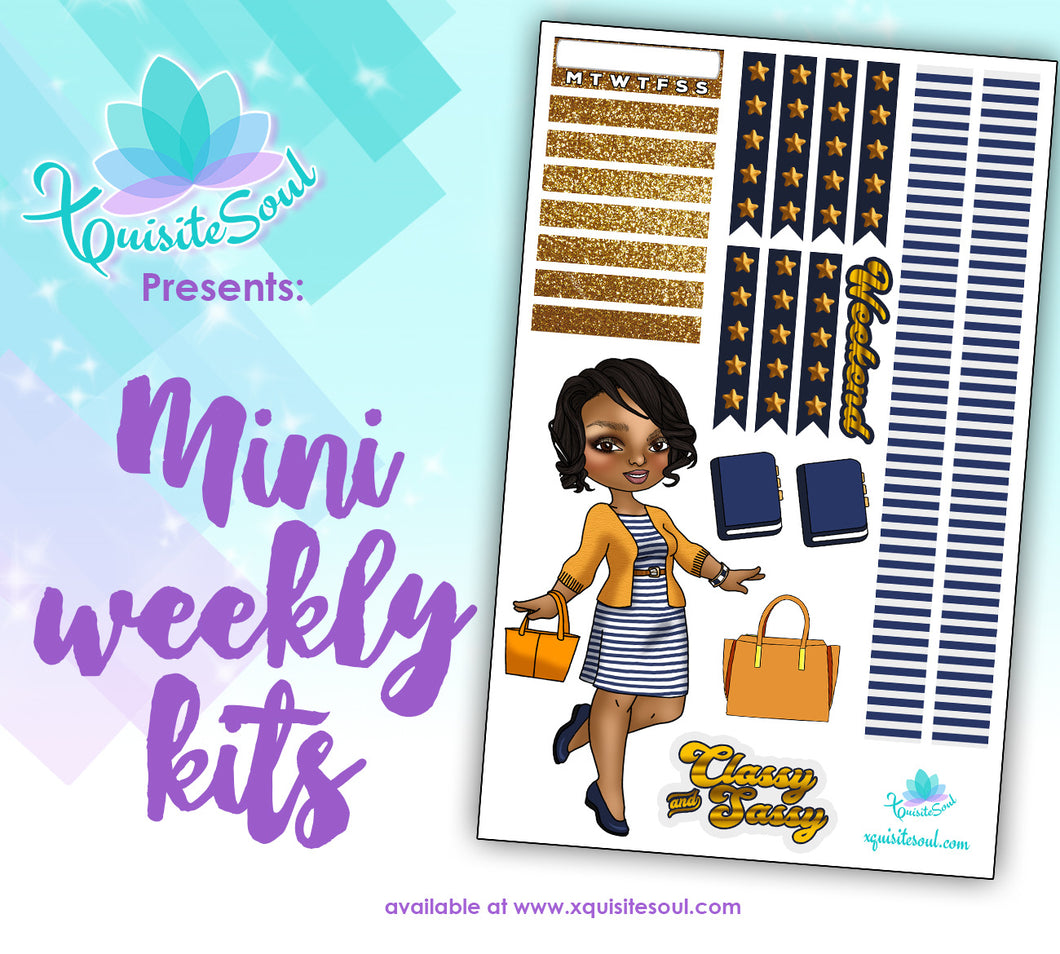 Classy and Sassy XQuibi Mini Weekly Kit