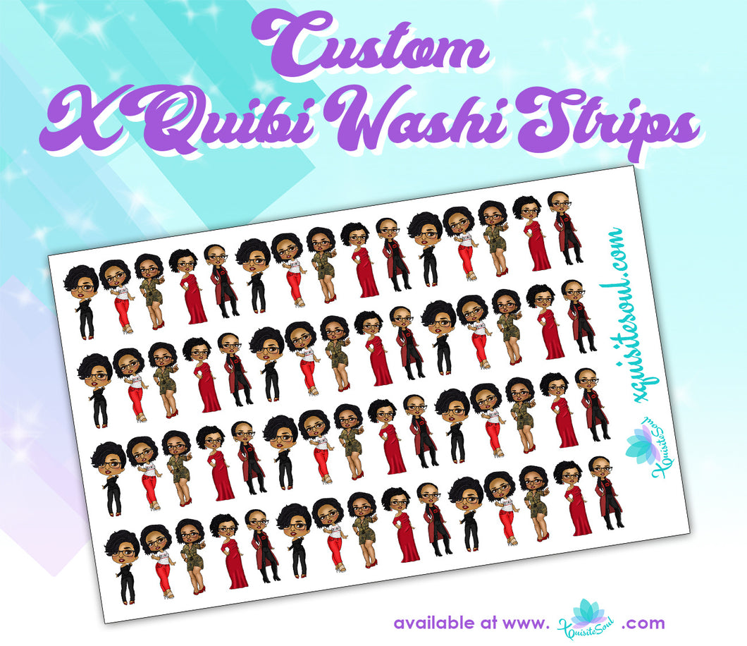 XQuibi Washi Strips 11.0