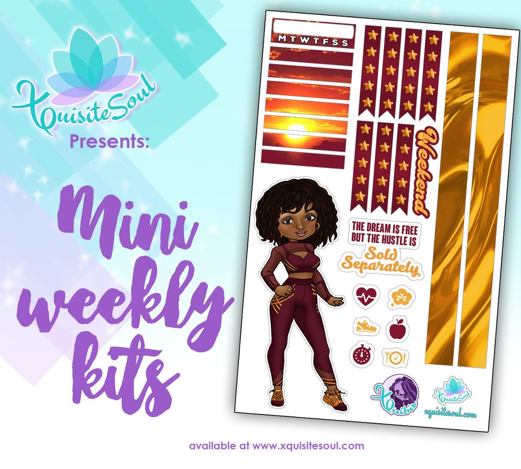 Dream XQuibi African American Mini Weekly Kit