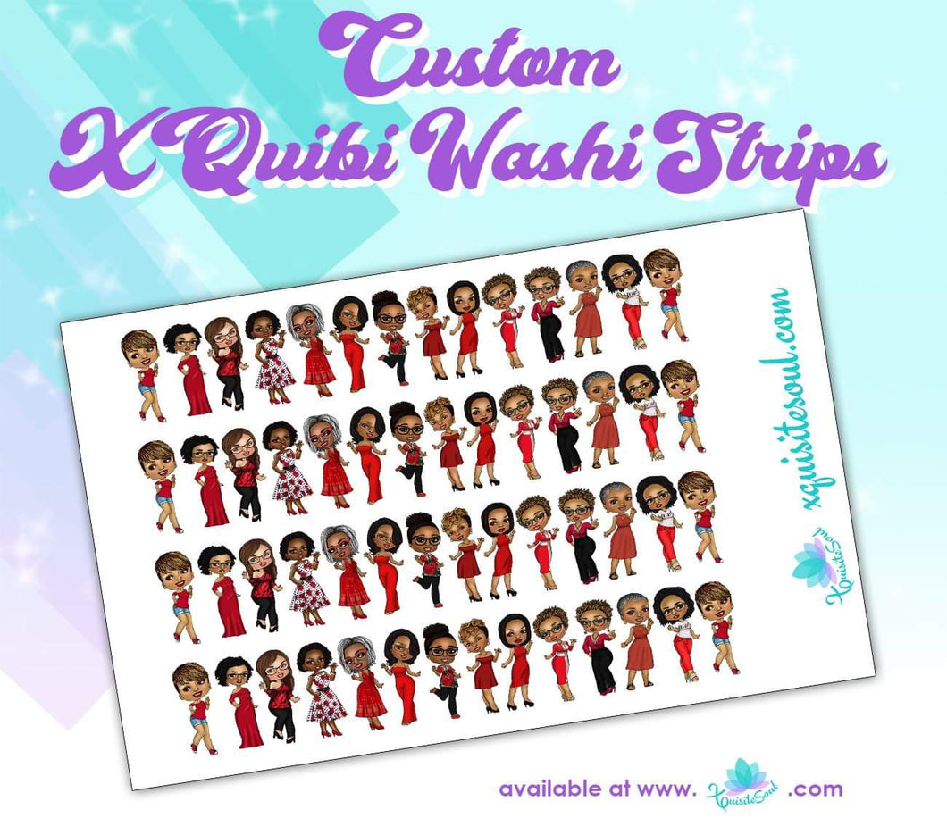 XQuibi Washi Strips 10.0