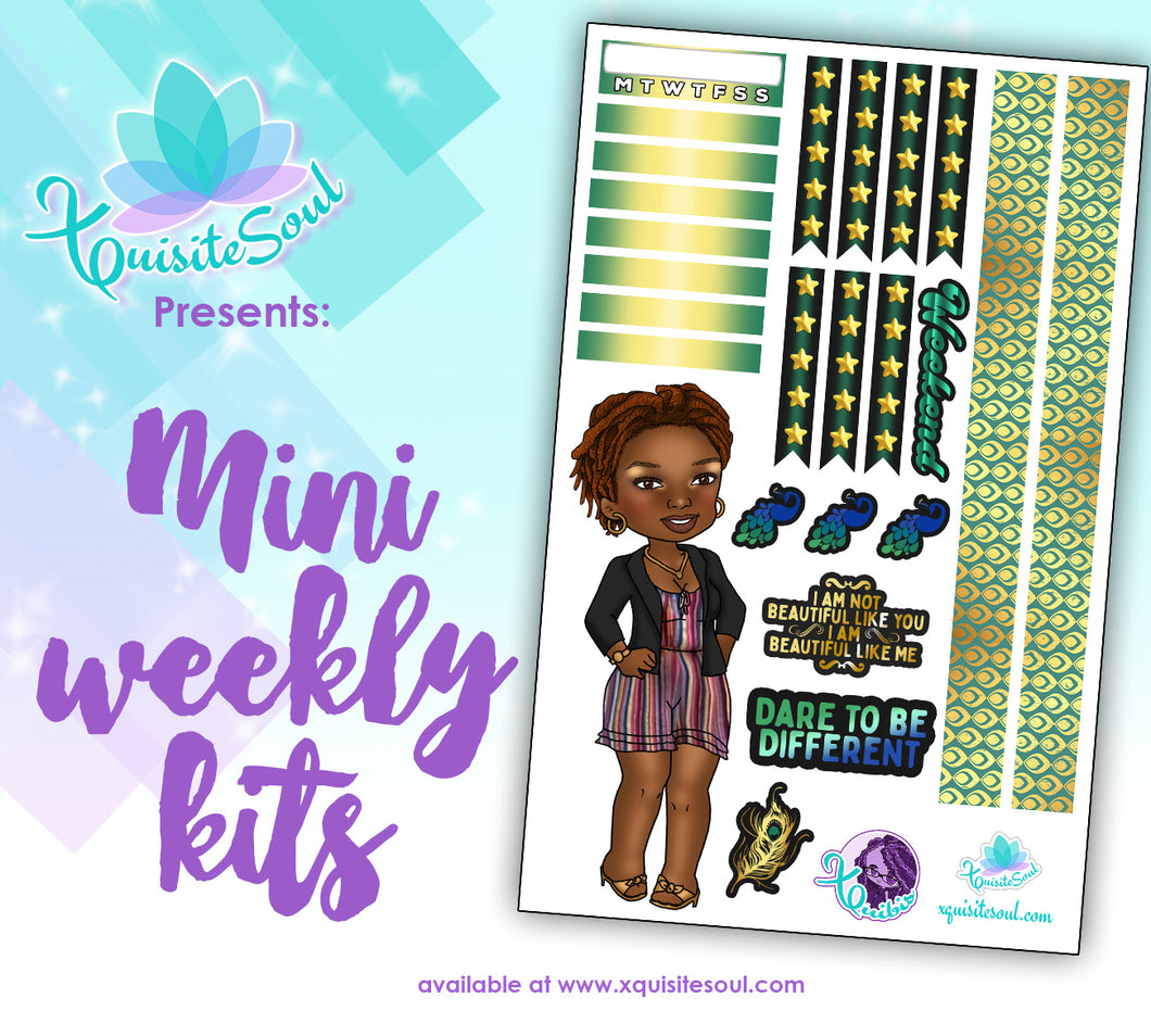 Dare To Be Different XQuibi Mini Weekly Kit