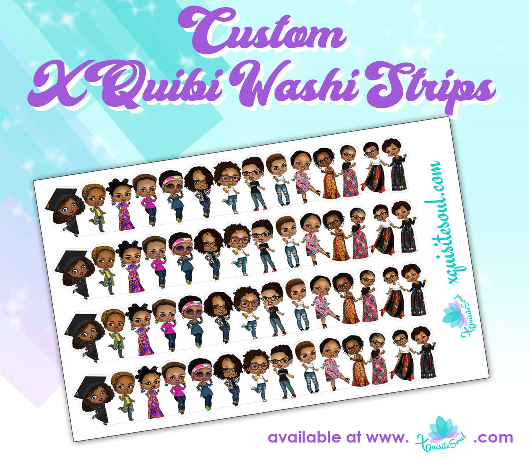 XQuibi Washi Strips 5.0